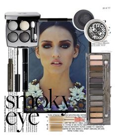 """""""smoky eye"""" by mildredsunrise on Polyvore featuring beauty, Chanel, Urban Decay, Christian Dior, NYX and L'Oréal Paris"""
