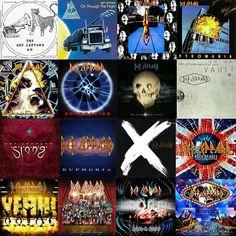 Def Leppard album covers
