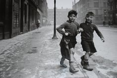 Bert Hardy. boys in The Gorbals district of Glasgow