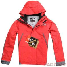 Hommes The North Face Gore Tex XCR Veste Rouge Sortie TNF136