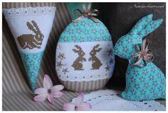 heartmade. eggs and bunny