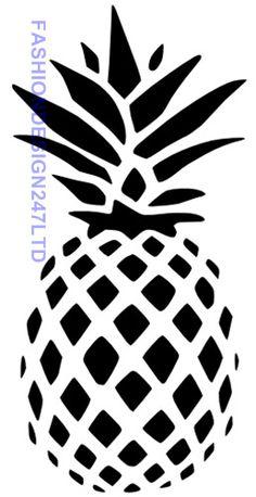Flower Pineapple Mylar Stencil Craft Home Decor Painting Wall Art 125/190 Micron
