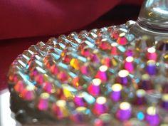 Swarovski Crystal wine glass bling wine glass by TheBlingBosses