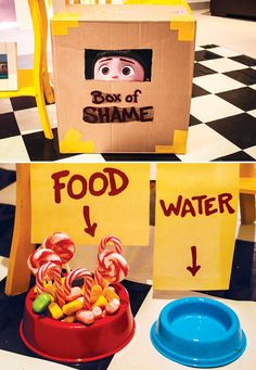 despicable me's box of shame