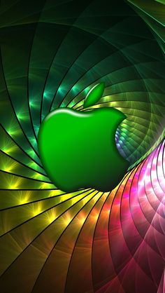 fractal apple Micromax A110 Canvas 2 hd wallpapers available for free download.