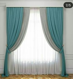 There are curtains in the windows of our eyes! Either we open these curtains and see the world or keep the curtains closed and see only the curtains! Elegant Curtains By Johanna . Cute Curtains, Elegant Curtains, Pergola Curtains, Colorful Curtains, Drapes Curtains, Curtain Styles, Curtain Designs, Living Room Decor Curtains, Bedroom Decor