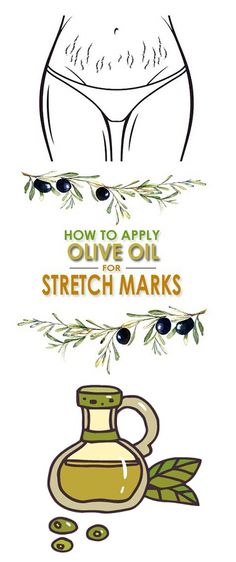 Olive Oil for Stretch Marks