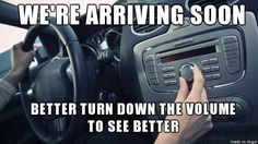 Why we do this in our cars every time: