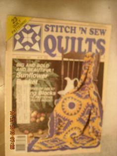 STITCH 'N SEW QUILTS Magazine Aug. 1987