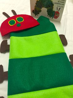Infant Caterpillar Costume by LifeIsSew on Etsy