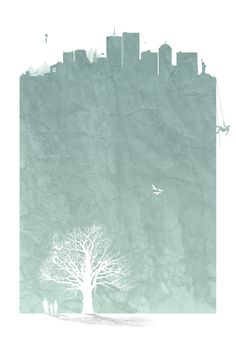 Poster by Rune Holmann, via Behance