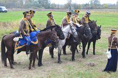 Russian Akhtyrsky hussars