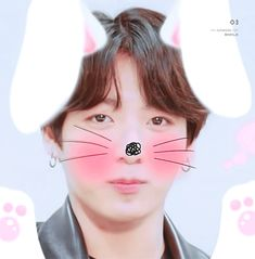 ( ͒˃̩̩⌂˂̩̩ ͒) OMO, MY LITTLE BUNNY IS TOO CUTTIEE❤❤❤❤❤❤❤❤ #JUNGKOOK #BTSFESTA2018