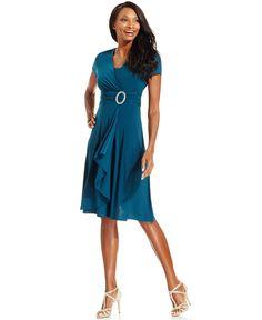 $61 http://www1.macys.com/shop/product/r-m-richards-short-sleeve-faux-wrap-dress?ID=769803