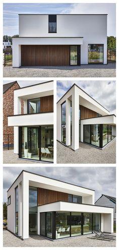 Villa, Workspace Design, Minimalist Decor, Office Interiors, Beautiful Interiors, Interior Styling, Exterior Design, Tiny House, New Homes