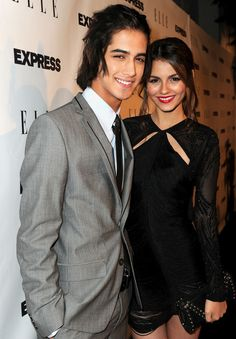 Avan Jogia & Victoria Justice from Victorious