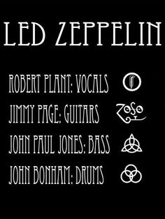 The Zeppelin Line Up