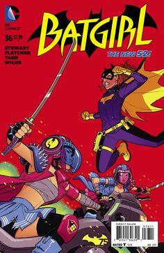Batgirl #36 - Tomorrow Cries Danger (Issue)