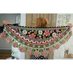 Colorful Crochet World Freeform Crochet, Crochet Granny, Irish Crochet, Crochet Motif, Crochet Shawl, Crochet Lace, Crochet Patterns, Unique Crochet, Love Crochet