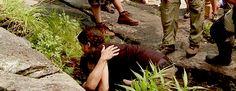 The Hunger Games THG katniss everdeen jennifer lawrence Josh Hutcherson Peeta Mellark hunger games THGedits everlark