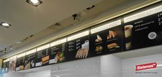 Menu Board Rodilla Sandwiches