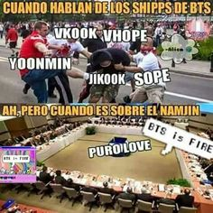 Vkook, namjin, yoomin, y hobie Namjin, Yoonmin, Jikook, Taehyung, Kdrama Memes, Bts Memes Hilarious, I Love Bts, So Love, Fandom