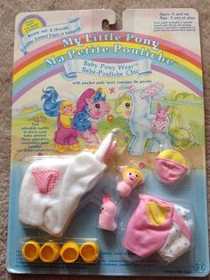 My Little Pony Baby Pony wear Bunny Suit and Overalls ...