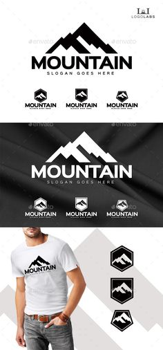 Mountain - Logo Design Template Vector #logotype Download it here: http://graphicriver.net/item/mountain-logo/10190796?s_rank=1333?ref=nesto