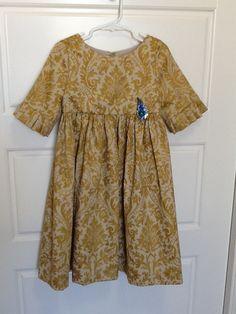 2013 Christmas dress, sister, before sash