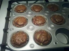 South Beach Phase 1 - Chocolate Peanut Butter Muffins