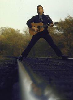 Johnny Cash, the Man in Black
