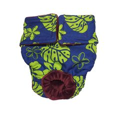 Dog Diapers - Made in USA - Green Hawaiian Hibiscus Washable Dog Diaper for Incontinence, Housetraining and Dogs in Heat -- New and awesome cat product awaits you, Read it now  : Cat litter