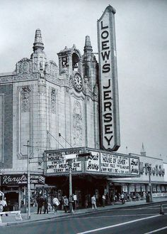 Memories of my Childhood: Loew's Jersey Theatre, Journal Square, Jersey City NJ