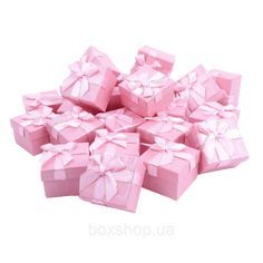 Бумажная коробочка BOXSHOP #box1-1 Розовый