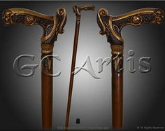 Walking Sticks/canes Antiques Persevering Lot Of 2 Vintage Style Solid Brass Head Handle Wooden Walking Stick Shaft Cane