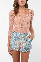 Pins and Needles 3/4 Sleeve Lace Top  #UrbanOutfitters
