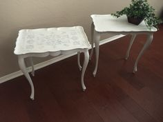 A set of tables done by Gilbert boutique by Shelly