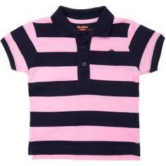 Polo de piqué de algodón a rayas Infantil niño - Kiabi - 4,99€