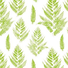 Seamless pattern with paint prints of fern leaves Pixerstick Wallpaper ✓ Easy Installation ✓ 365 Day Money Back Guarantee ✓ Browse other patterns from this collection! Button Fern, Fern Wallpaper, Adobe, Leaf Texture, Leaf Images, Tropical Leaves, Ferns, Royalty Free Photos, Plant Leaves