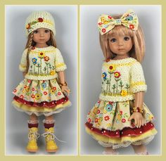 Yellow Red Outfit from maggie_kate_create ends 8/31/14. SOLD for $86.00