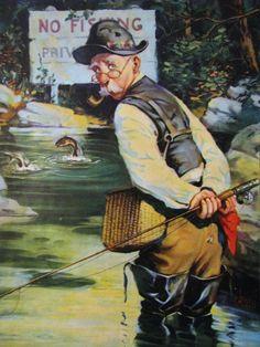 No Fishing C McKell