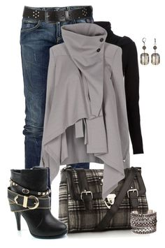 """Untitled #949"" by johnna-cameron ❤ liked on Polyvore featuring RoÃ¿ Roger's, kangol, RED Valentino, Ann Demeulemeester, DANNIJO and dannijo"