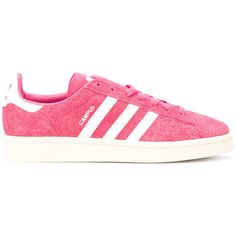Adidas Originals Gazelle sneakers (€100) ❤ liked on Polyvore featuring shoes, sneakers, pink, pink leather shoes, pink shoes, adidas originals shoes, leather sneakers and adidas originals trainers