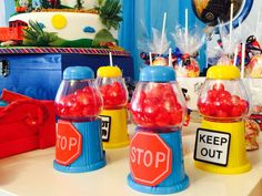 Thomas the Train Birthday Party Ideas | Photo 9 of 25 | Catch My Party