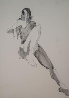 Life drawing- Karen Darling