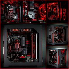"""Modder: Snef Computer Design Project Name: ""Devil's Eye""(ROG 10th Anniversary PC Mod)  Specs CPU: Intel Core i7-6700k MB: ROG Maximus VIII Formula GPU:…"""