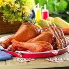 Wholesale Jumbo Smoked Wholesale Smoked Turkey Drumsticks and Turkey Legs, on sale at Farmer's Fresh Meat! Bake Turkey Wings Recipe, Baked Turkey Wings, Turkey Drumsticks, Smoked Turkey Legs, Meat Markets, Fried Fish Recipes, Fresh Meat, Wing Recipes, Fries