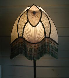 Victorian Lampshades On Pinterest Victorian Lamps