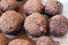 healthy chocolate bliss balls from Cameron Diaz's Our Body Book