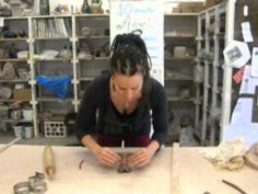 10 minute angel sculpture demonstration by Mathilda Tanner - YouTube